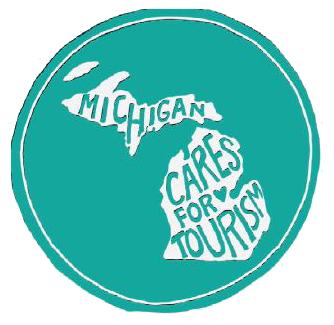 michigan cares for tourism logo